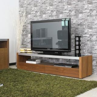 【armonia アルモニア】AICA ブラックガラスTVボード【送料込み】(ローテーブル)