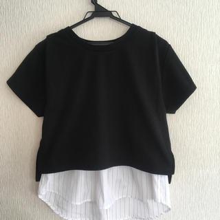 ジーナシス(JEANASIS)の美品 ジーナシス Tシャツ タンクトップ セットアップ(Tシャツ(半袖/袖なし))