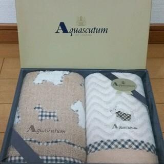 アクアスキュータム(AQUA SCUTUM)のKANA様専用 アスキュータム フェイスタオルセット(2枚セット)(タオル/バス用品)