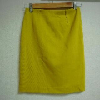 デミルクスビームス(Demi-Luxe BEAMS)の【美品】BEAMS ストレッチタイトスカート(ひざ丈スカート)