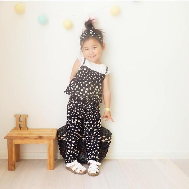 cb00d0f73395c キッズ オールインワン サロペット 夏 女の子 子供服 キッズ ベビー マタニティのキッズ服 女の子