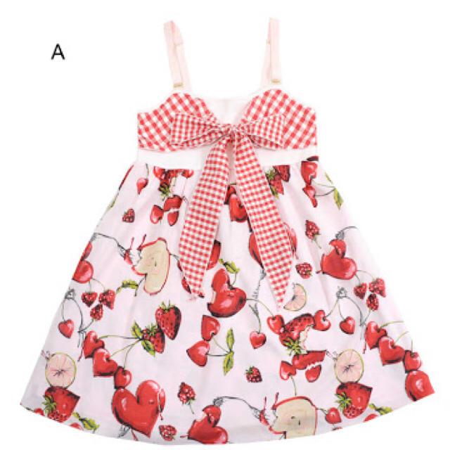 MILK(ミルク)のmilk ラブベリー baby doll ピンク レディースのワンピース(ひざ丈ワンピース)の商品写真