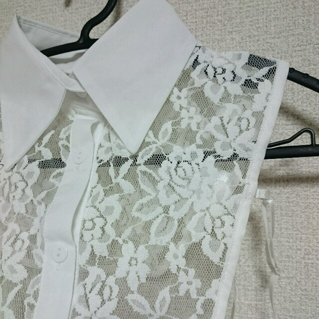 しまむら(シマムラ)のレース つけ襟 レディースのアクセサリー(つけ襟)の商品写真