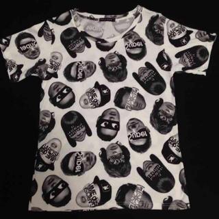ハーフマン(HALFMAN)の【値下げ】HALF MAN ハーフマン 総柄 Tシャツ レア リフォーム物(Tシャツ(半袖/袖なし))