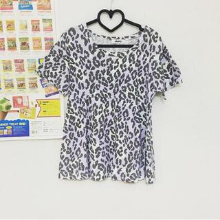 アイロニー(IRONY)のirony♡パステルヒョウ柄Tシャツ(Tシャツ(半袖/袖なし))