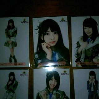 エイチケーティーフォーティーエイト(HKT48)のHKT48 『サシコドソレイユ』生写真 3枚セット(女性タレント)