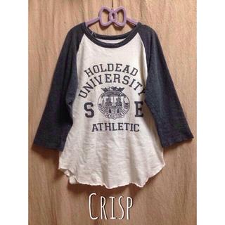 クリスプ(Crisp)のCrisp/ラグランTシャツ(Tシャツ(長袖/七分))