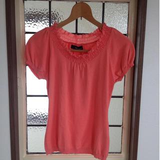クリアインプレッション(CLEAR IMPRESSION)のクリアインプレッションのピンクカットソー(カットソー(半袖/袖なし))