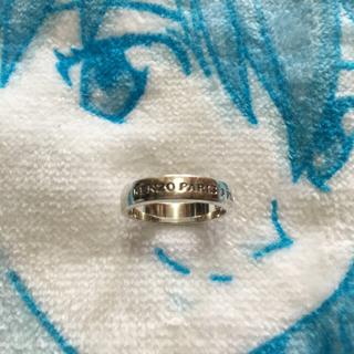 ケンゾー(KENZO)のKENZO ケンゾー 男女兼用 9号 シルバー925刻印入りリング&指輪 正規品(リング(指輪))