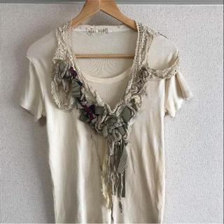 アオキユリ(aoki yuri)のアオキユリ Aoki yuri(Tシャツ(半袖/袖なし))