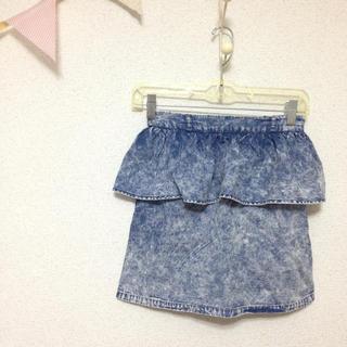 ローリーズファーム(LOWRYS FARM)のペプラムタイトスカート(ミニスカート)