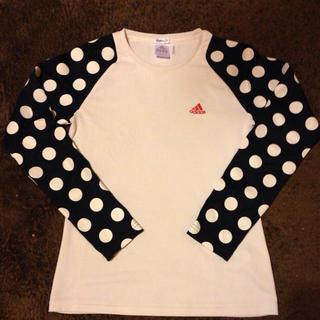 アディダス(adidas)のadidas スポーツ用ロンT(Tシャツ(長袖/七分))