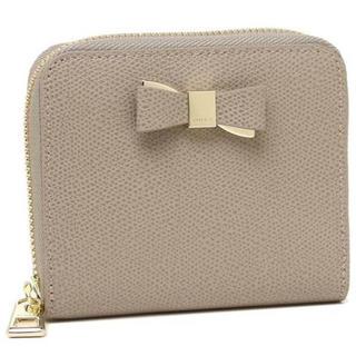 フルラ(Furla)のフルラ新品リボン未使用スモールジップ正規品ラウンドファスナー二つ折り財布(折り財布)