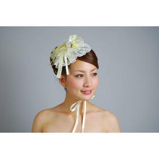 【新品、1点もの】日本製 クラシカルなヘッドドレス 薔薇・レース(その他)