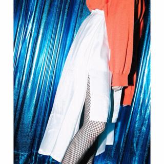 ミックスエックスミックス(mixxmix)のmixxmix | サイドスリットアンバランススカート(ひざ丈スカート)