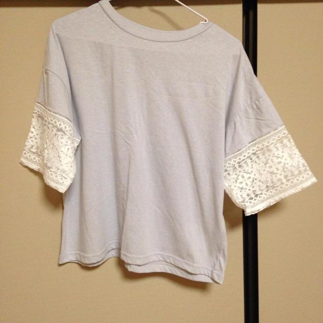 袖レースT☆MOCA レディースのトップス(Tシャツ(半袖/袖なし))の商品写真