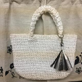 サマーバッグ ハンドメイドのファッション小物(バッグ)の商品写真