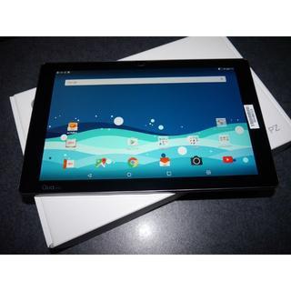 エルジーエレクトロニクス(LG Electronics)の新品未使用 au Qua tab PZ LGT32本体 ネイビー 残債無 判定○(タブレット)