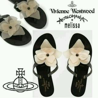 ヴィヴィアンウエストウッド(Vivienne Westwood)のvivienne westwood angromania×melissa(サンダル)