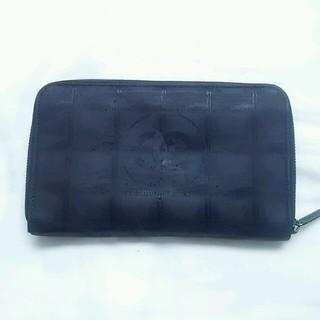 シャネル(CHANEL)のCHANELニュートラベルライン長財布(財布)