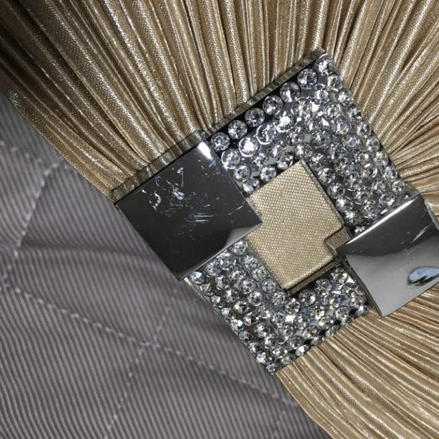 dazzy store(デイジーストア)のデイジー クラッチバッグ ゴールド レディースのバッグ(クラッチバッグ)の商品写真