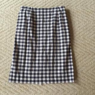 ロペピクニック(Rope' Picnic)のギンガムチェック タイトスカート(ひざ丈スカート)