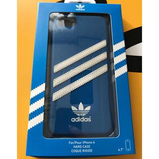 アディダス(adidas)のadidas iPhone6ケース 青(iPhoneケース)