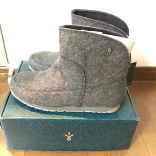 エミュー(EMU)の新品タグ付き エミューハーパーミニ フェルトブーツ(レインブーツ/長靴)