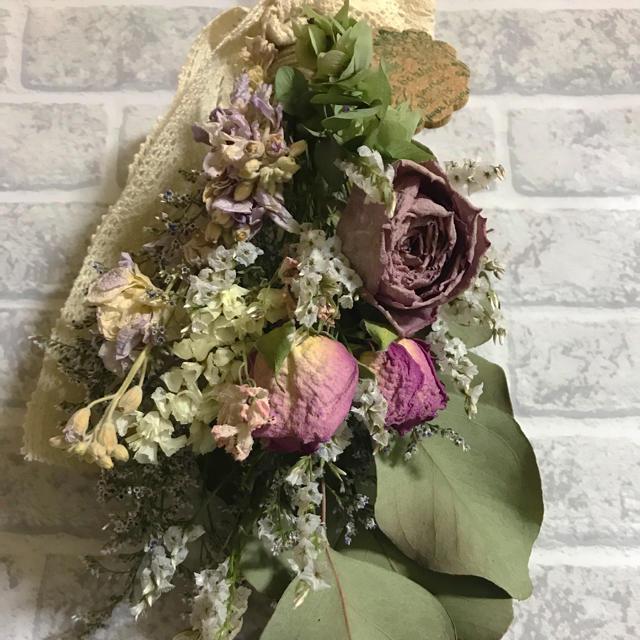 ハンドメイドスワッグ☆お買得価格☆ ハンドメイドのフラワー/ガーデン(ドライフラワー)の商品写真