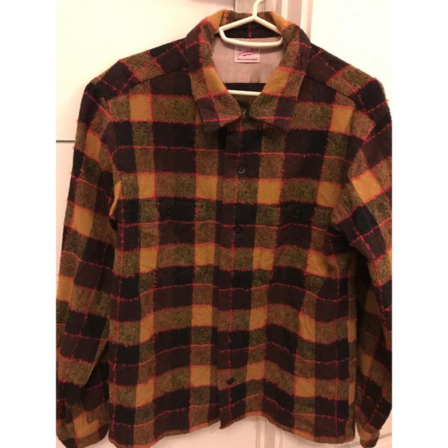 TENDERLOIN(テンダーロイン)のテンダーロイン ネルシャツ イエロー プライド キムタク サイズS メンズのトップス(シャツ)の商品写真
