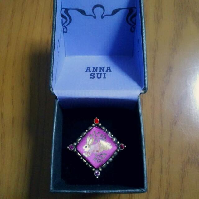 ANNA SUI(アナスイ)のANNA SUI♡うさぎ ぷっくり 指輪 リング レディースのアクセサリー(リング(指輪))の商品写真