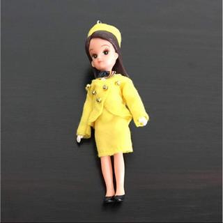 トミー(TOMMY)のリカちゃん人形ストラップ はとバス 美品(キャラクターグッズ)