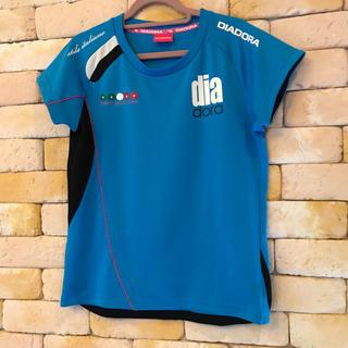 ディアドラ(DIADORA)の♪mochaさま専用♪ディアドラ Tシャツ ブルー(Tシャツ(半袖/袖なし))