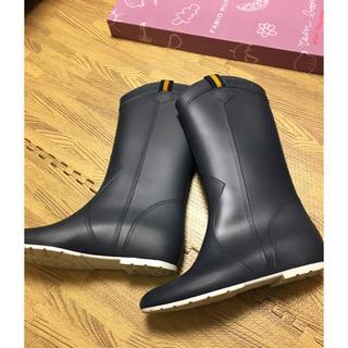 ファビオルスコーニ(FABIO RUSCONI)のファビオルスコーニ レインブーツ 37(レインブーツ/長靴)