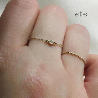 エテ(ete)のete(リング(指輪))