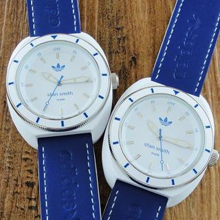 アディダス(adidas)の新品 ペア腕時計 adidas メンズ レディース ADH9087 ブルー(腕時計)