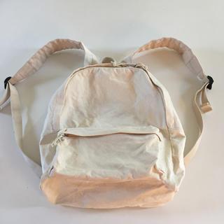 ムジルシリョウヒン(MUJI (無印良品))のぱんこ様専用  無印良品の生成りリュック(リュック/バックパック)