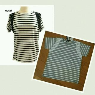 ルカ(LUCA)のMunich ボーダーTシャツ 新品タグ付き(Tシャツ(半袖/袖なし))