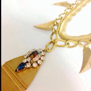 ハニーミーハニー(Honey mi Honey)のDropmotif necklace (ネックレス)