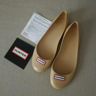 ハンター(HUNTER)の新品 HUNTER romilly uk4 ベージュ ハンター(レインブーツ/長靴)