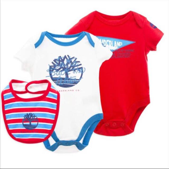 Timberland(ティンバーランド)のおマメちゃん様ティンバーランド ロンパース キッズ/ベビー/マタニティのベビー服(~85cm)(ロンパース)の商品写真