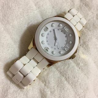 マークバイマークジェイコブス(MARC BY MARC JACOBS)のマークバイマークジェイコブス☆腕時計☆ホワイト(腕時計)