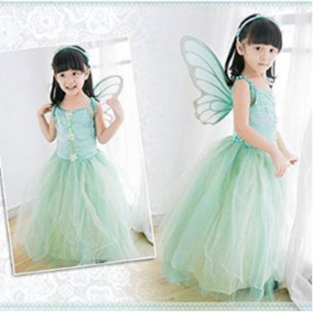 ファンタジードレス 蝶 妖精 ティンカーベル アリス 子供 不思議の国のアリス