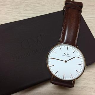 ダニエルウェリントン(Daniel Wellington)のダニエル・ウェリントン ローズゴールド 36mm(腕時計(アナログ))