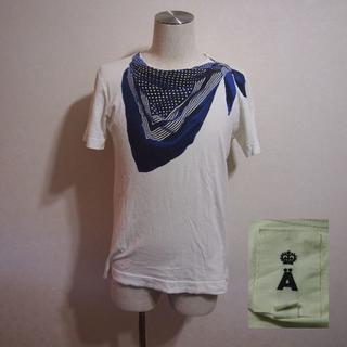 エィス(A)の良品!A/エイス フェイクストールプリントT 2(Tシャツ/カットソー(半袖/袖なし))
