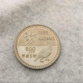 長野オリンピック 記念硬貨 500円(貨幣)