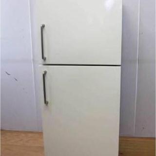 ムジルシリョウヒン(MUJI (無印良品))の無印 冷蔵庫 137l  中古 無印良品/TOSHIBA 2ドア冷蔵庫(冷蔵庫)