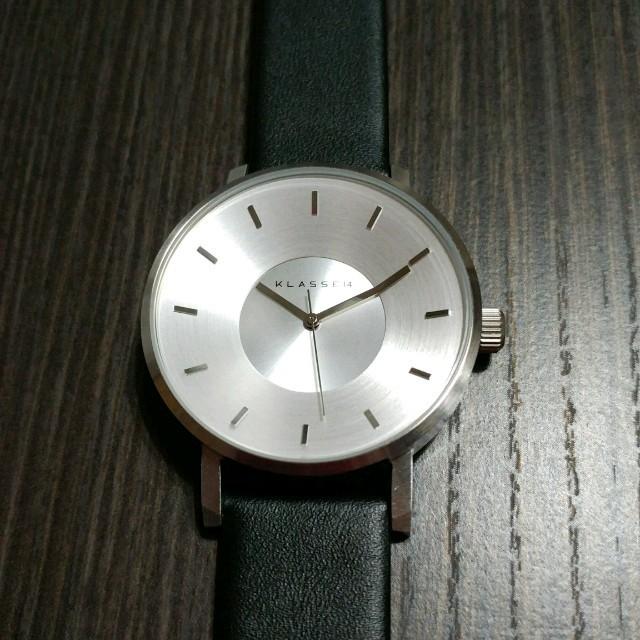 ☆新品 KLASSE14 腕時計 42mm マリオノビルヴォラーレ シルバー メンズの時計(腕時計(アナログ))の商品写真