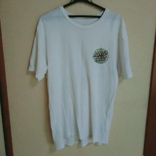 サンタクルーズ 白Tシャツ(Tシャツ/カットソー(半袖/袖なし))