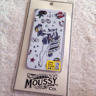 マウジー(moussy)のmoussy iPhone5ケース再出品(モバイルケース/カバー)